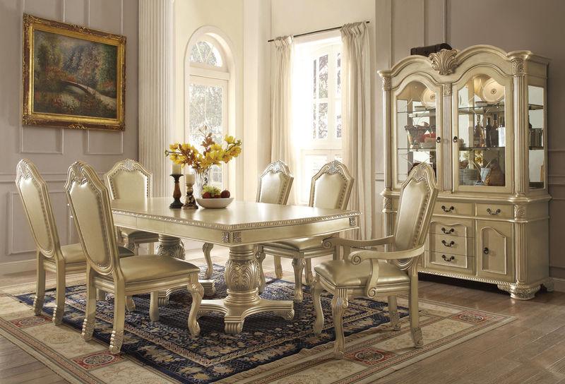 Dallas Designer Furniture Everett Counter Height Dining  : AcmeChateauDeVilleDiningSilver64055 from www.dallasfurniturediscounters.com size 800 x 544 jpeg 107kB
