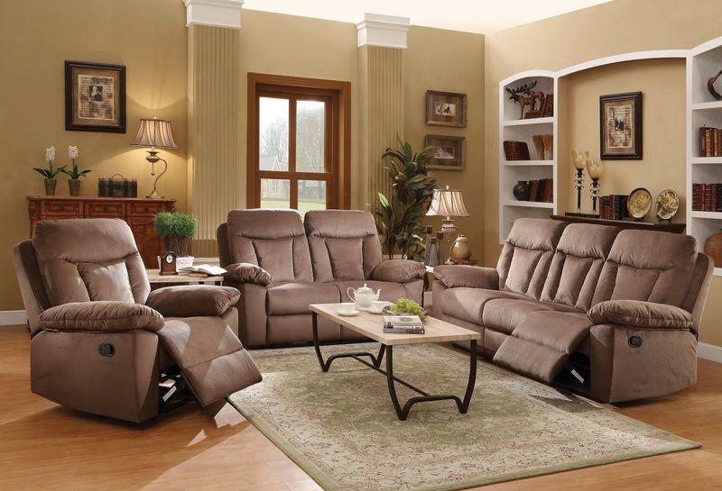 Elisha Reclining Living Room Set