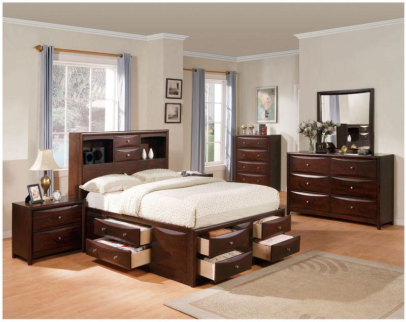 Manhattan Bedroom Set with Storage Bed