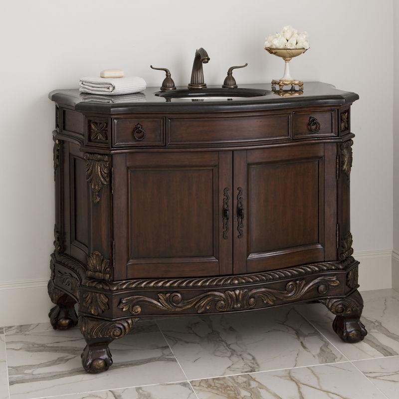 Dallas Designer Furniture Spindle Sink Chest In Grey