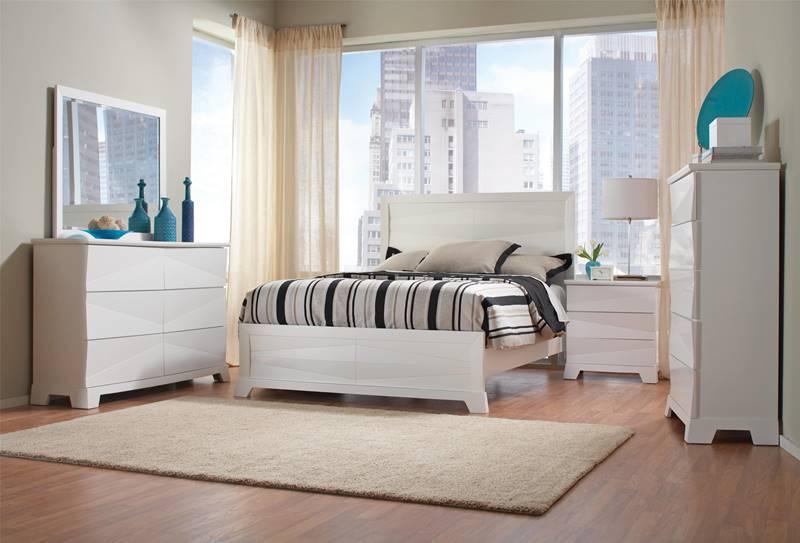 Karolina White Bedroom Set