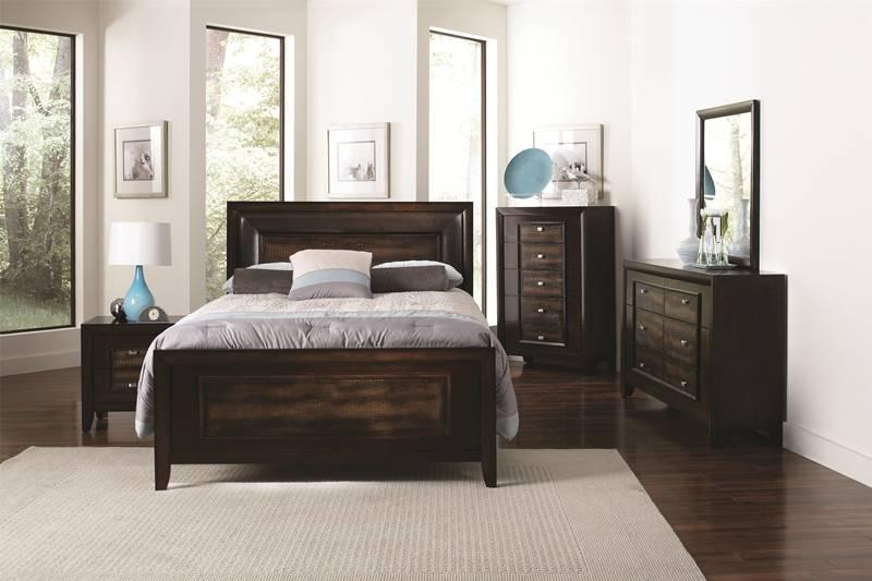 Dallas Designer Furniture Belgrade I Storage Bedroom Set