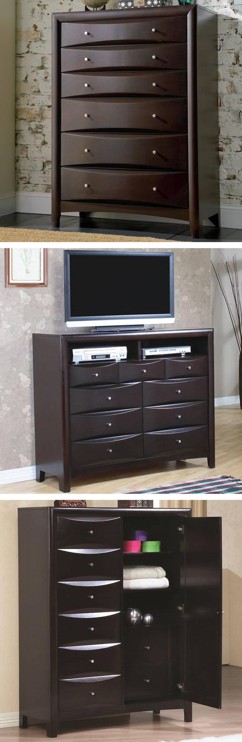 Dallas Designer Furniture Phoenix Bedroom Set With Large