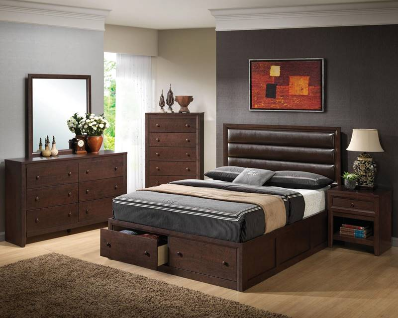 Remington Bedroom Set with Storage Bed