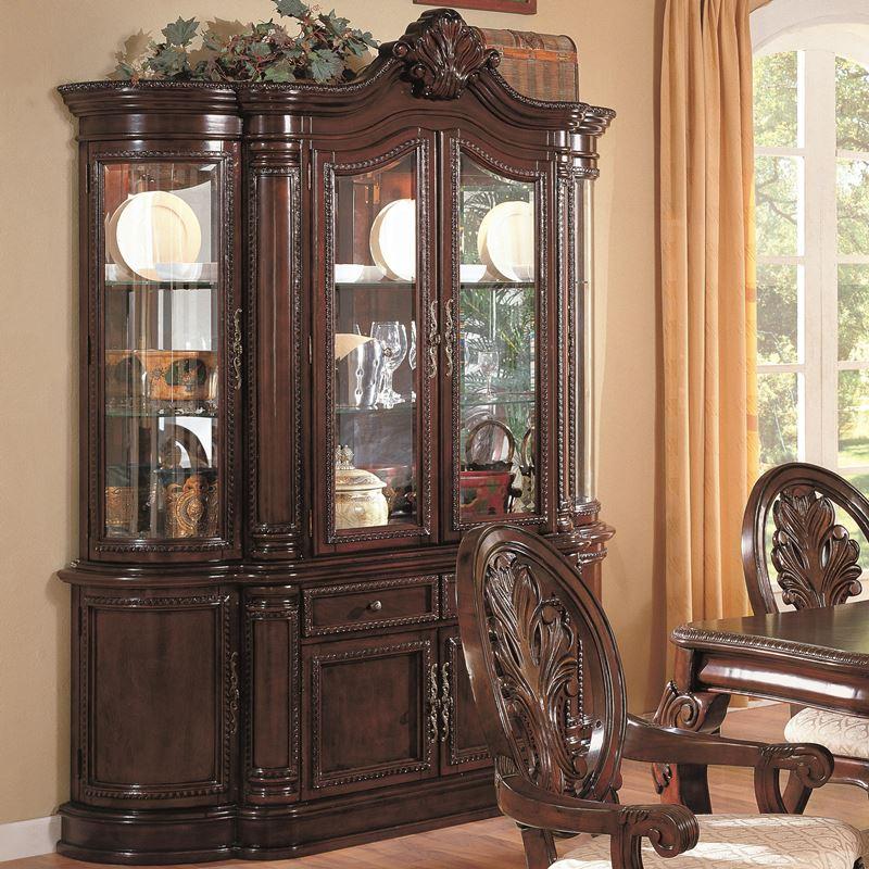 Dallas designer furniture tabitha formal dining room set for Formal dining room sets with china cabinet
