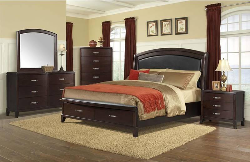 Dallas Designer Furniture Delaney Bedroom Set With Storage Bed