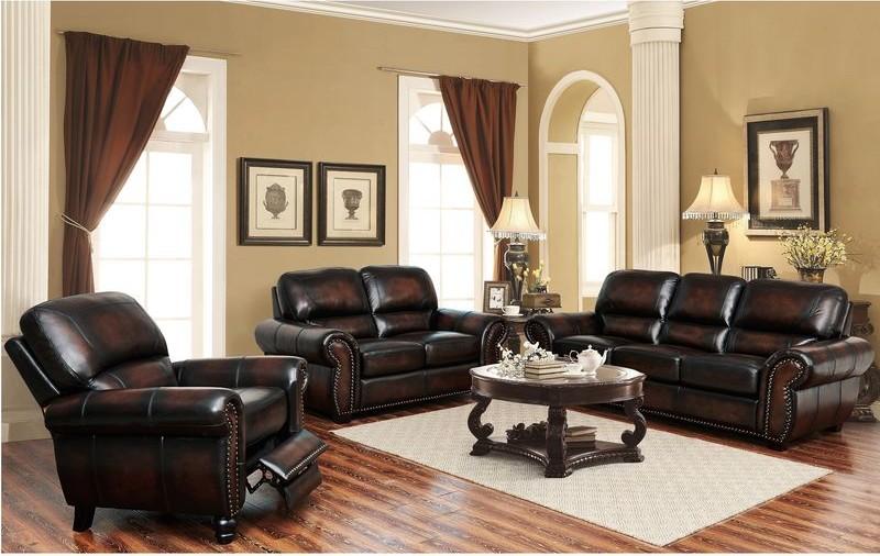 El Dorado Leather Living Room Set