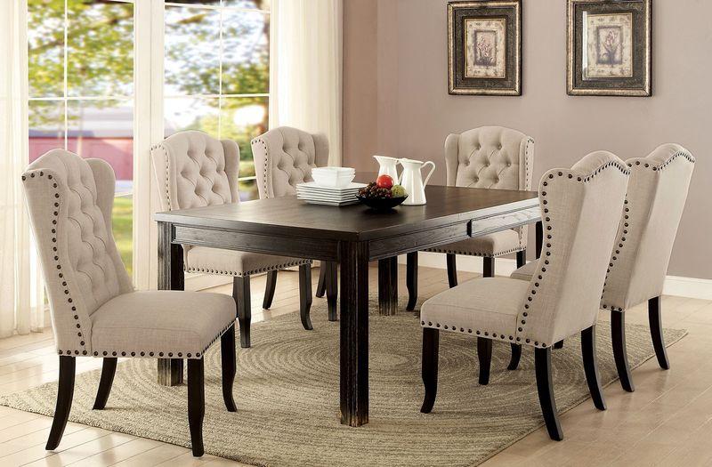 Sania I Formal Dining Room Set