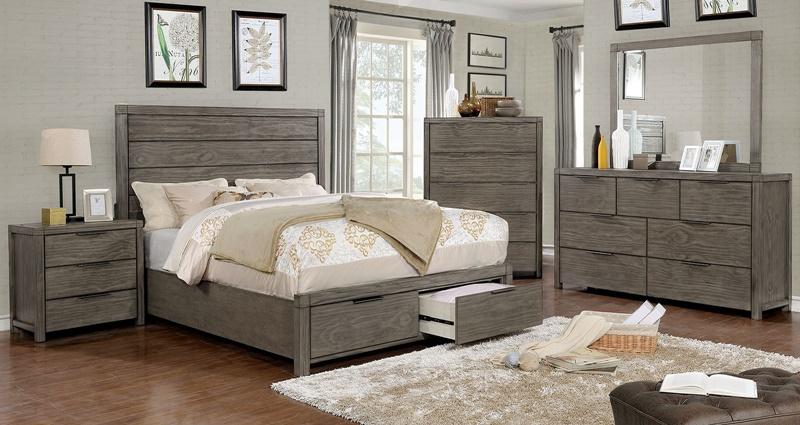 Asterope Bedroom Set with Storage Drawers