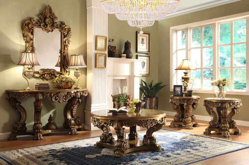 #HD 506 El Dorado Formal Living Room Set Part 67