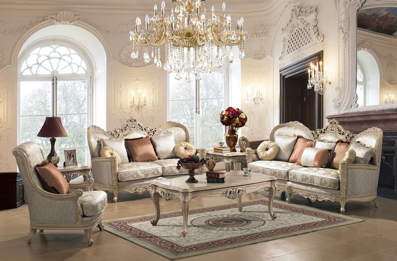 Aspen Formal Living Room Set