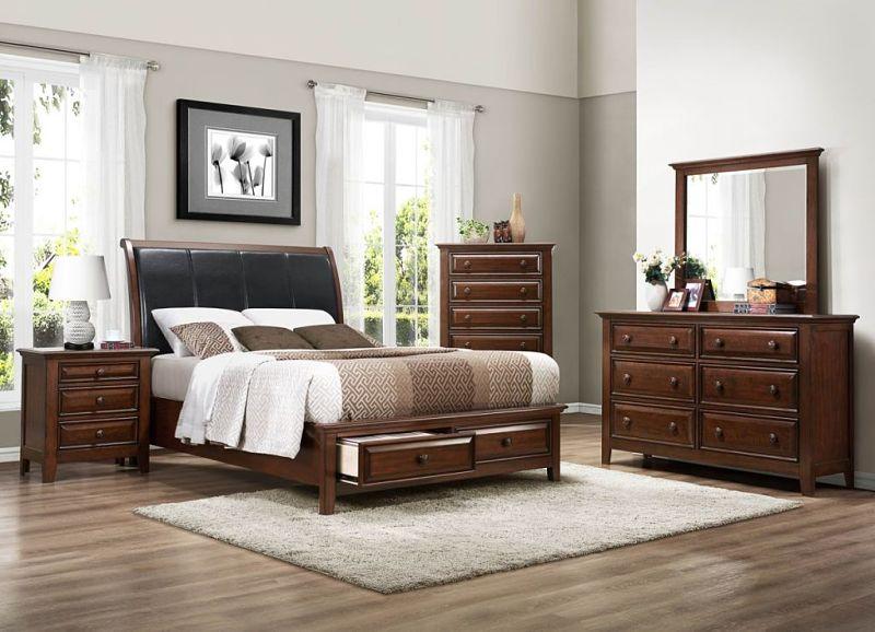 Sunderland Bedroom Set with Storage Bed