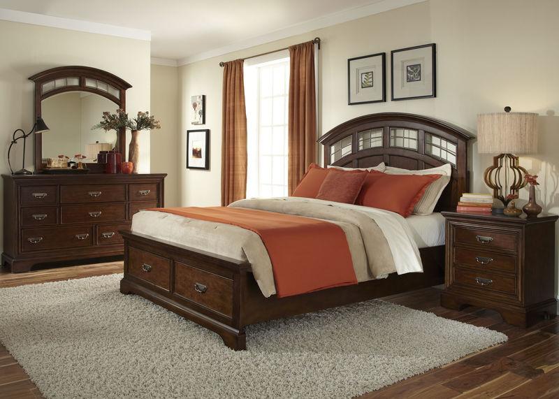 Parkwood Bedroom Set with Storage Bed
