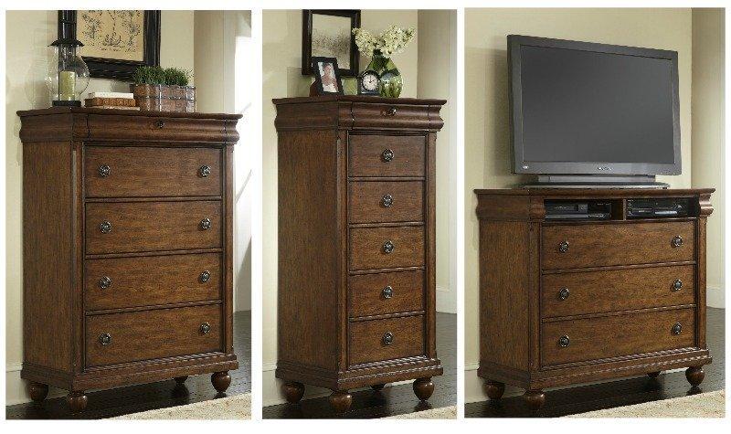 Dallas Designer Furniture Rustic Traditions Bedroom Set