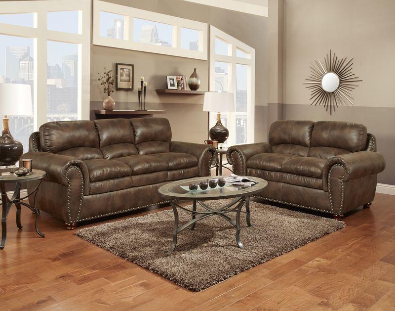 Padre Living Room Set in Espresso