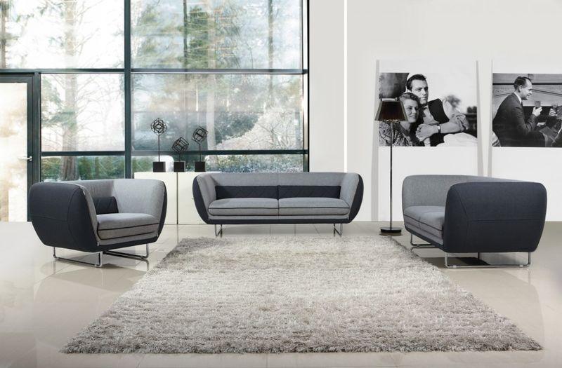 Divani Casa Vietta Modern Sofa Set