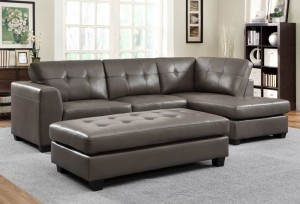 HomeleganceSpringerSectional9688GY
