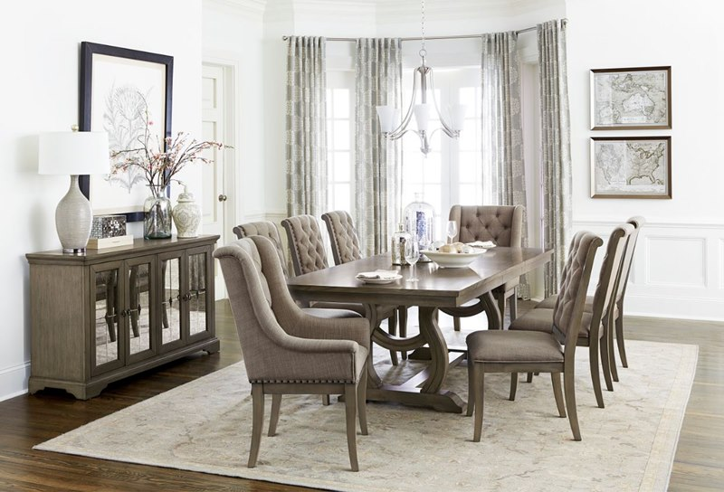 Vermillion Formal Dining Room Set