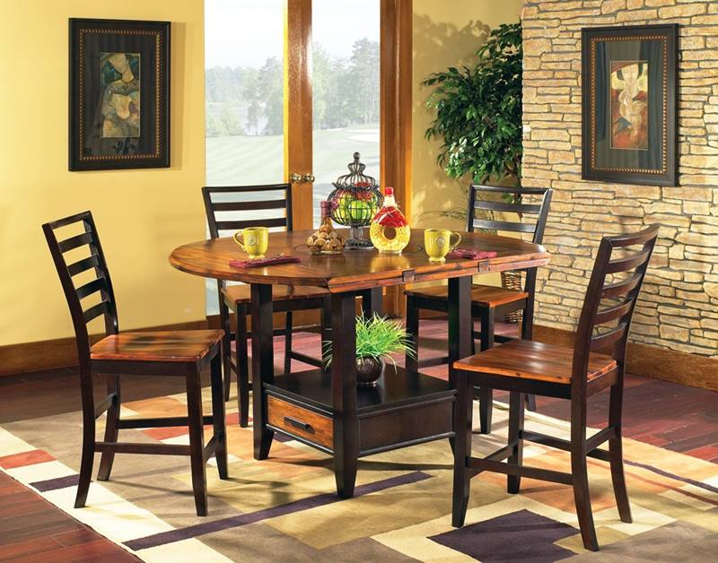 Abaco Round Pub Table Set