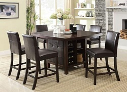 Bravo Counter Height Dining Room Set