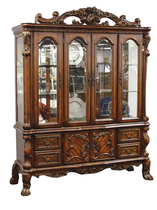 Dresden China Cabinet in Cherry Oak *Clearance*
