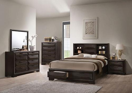 Merveille Bedroom Set with Storage Drawers