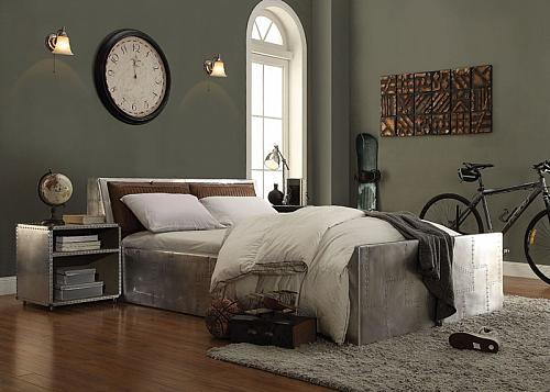 Brancaster Aluminum Storage Bedroom Set