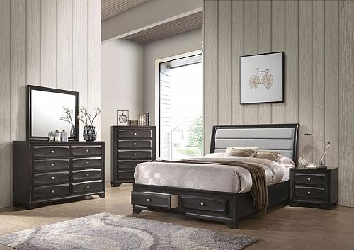 Soteris Bedroom Set with Storage Drawers
