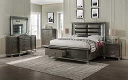 Sadie Bedroom Set with Storage Bed