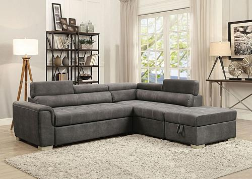 Thelma Sectional Sofa with Sleeper