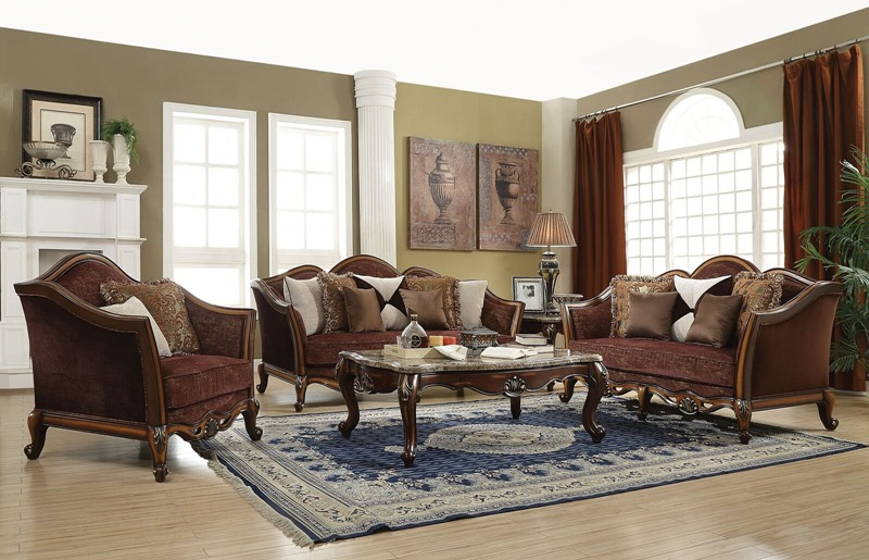 Acme | 50665 Beredei Formal Living Room Set | Dallas Designer Furniture