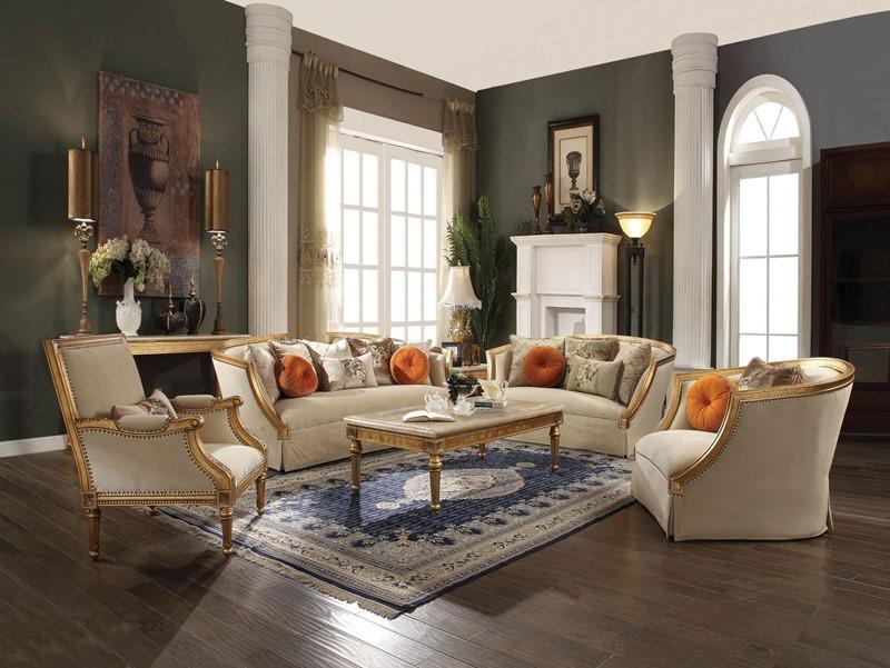 Daesha Formal Living Room Set