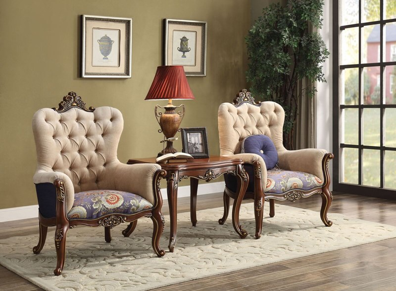 Acme 50846 Cortina Formal Sitting Room Set Dallas
