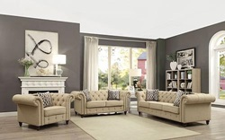 Aurelia Living Room Set in Beige