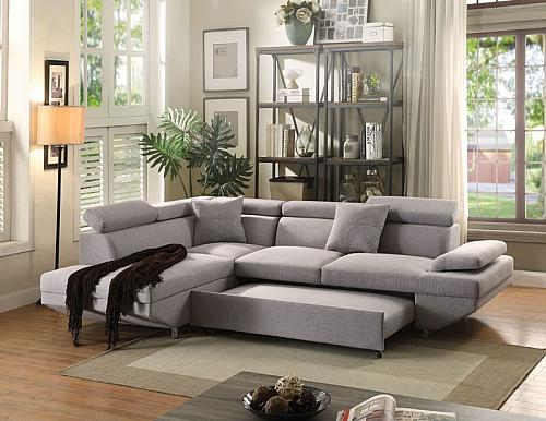 Jemima Sectional Sofa with Sleeper
