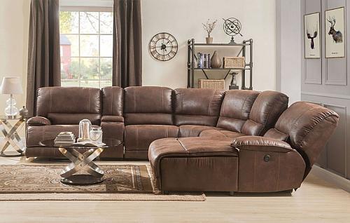 Hibiscus Reclining Sectional Sofa