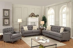 Alianza Living Room Set in Dark Gray