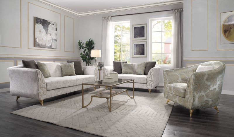 Wilder Living Room Set in Beige