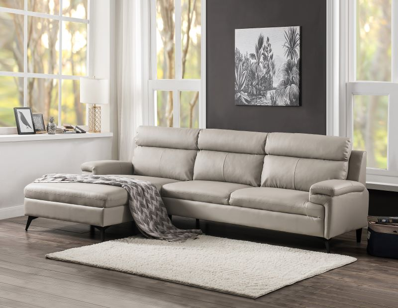 Werner Sectional Sofa in Beige
