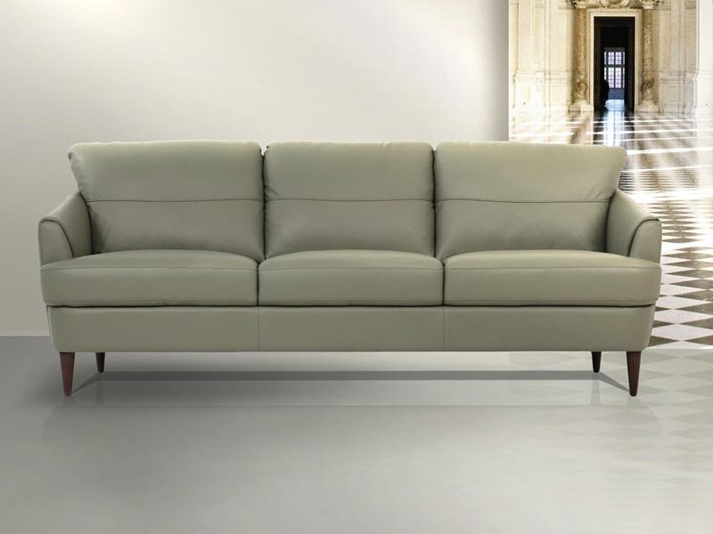 54570 Helena Green Leather Sofa Set | Acme | Free Delivery