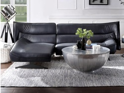 Maeko Leather Sectional