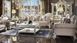 Picardy Oversized Formal Living Room Set