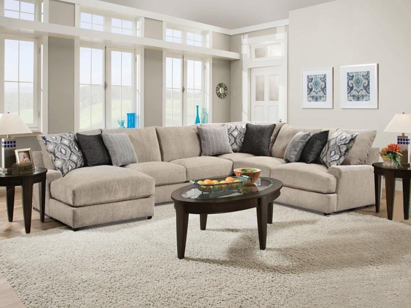 Vassenia Large Sectional Sofa