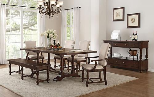 Tanner Dining Room Set with Upholstered Chairs