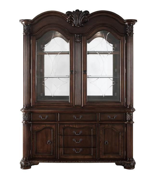 Chateau De Ville China Cabinet in Espresso *Clearance*