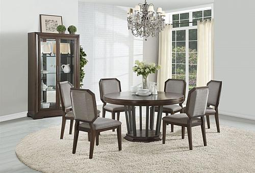 Selma Formal Dining Room Set with Round Table