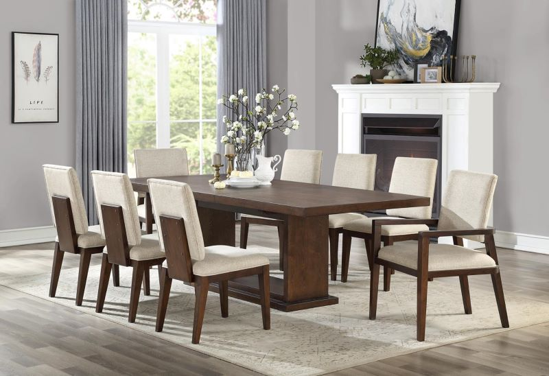 Niamey Dining Room Set in Walnut