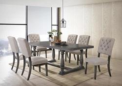 Bernard Dining Room Set in Gray