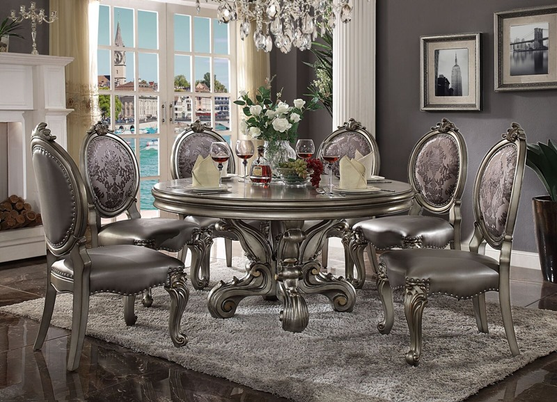 Formal Dining Room With China Cabinet