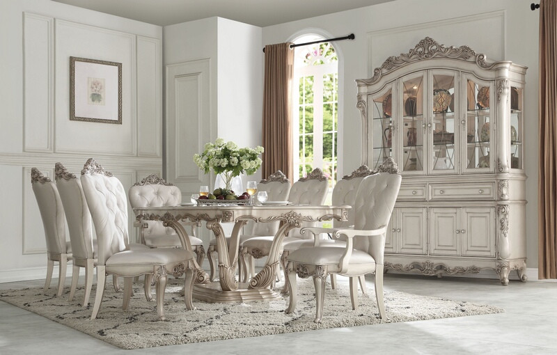 Acme 67440 Gorsedd Formal Dining Room Set Dallas Designer Furniture